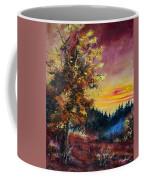 Oak At Sunset Coffee Mug