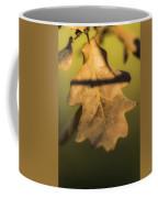 Oak Tree Leaf Coffee Mug