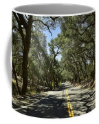 Oak Trees Along Live Oak Canyon Road Coffee Mug