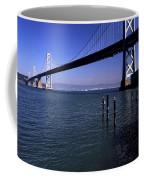 Oakland Bay Bridge 1985 Coffee Mug