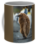 Oakum Boy King Penguin Asleep On Beach Coffee Mug