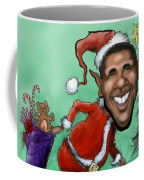Obama Christmas Coffee Mug