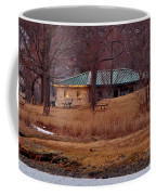 Obear Park At Sunset In Winter Coffee Mug
