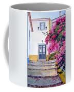 Obidos And Bougainvilla Coffee Mug