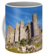 Obidos Castle Coffee Mug by Carlos Caetano
