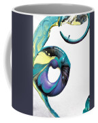 Oblique Paint Coffee Mug