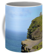 O'brien's Tower Along The Cliff's Of Moher In Ireland Coffee Mug
