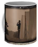 Observing The Field Of Battle Coffee Mug