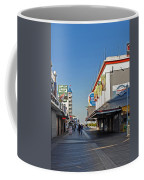 Oc Boardwalk Coffee Mug by Skip Willits