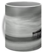 Ocean City Pier 1 Bw Coffee Mug