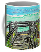 ocean / Beach crossover Coffee Mug