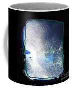 Ocean - Black And White Abstract Coffee Mug