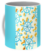 Ocean Circles Coffee Mug