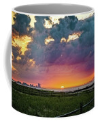 Ocean City Cloudy Sunrise Coffee Mug