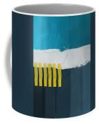 Ocean Front Walk 2- Art By Linda Woods Coffee Mug