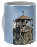 Ocean Isle Pig Weathervane Coffee Mug