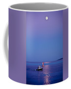 Ocean Moonrise Coffee Mug by Steve Gadomski