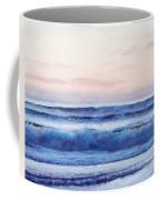 Ocean Painting 'dusk' By Jan Matson Coffee Mug