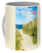 Ocean Path In Cornwall Coffee Mug