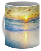 Ocean Reflections At Sunrise Coffee Mug