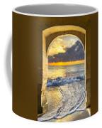 Ocean View Coffee Mug by Debra and Dave Vanderlaan