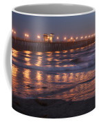 Oceanside Pier In The Mist Coffee Mug