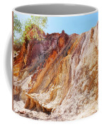 Ochre Pits Colours, West Mcdonald Ranges Coffee Mug