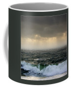 Ochre Sky's And Angry Seas 2 Coffee Mug