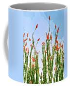 Ocotillo Shower Coffee Mug