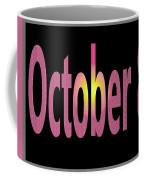 October 8 Coffee Mug