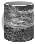 October Patterns Bw Coffee Mug