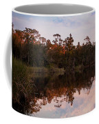 October Reflections On The River Coffee Mug