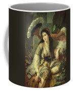 Odalisque Coffee Mug by Jean Baptiste Ange Tissier