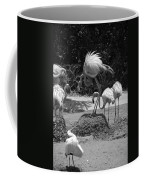 Odd Bird Out In Black And White Coffee Mug