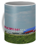 Odd Couple Delta Airlines Southwest Airlines Art Coffee Mug