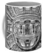 Ode To Mc Escher Library Of Congress Orb Horrizontal Coffee Mug