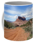 Off Road On The Red Rock Coffee Mug