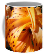 Office Art Floral Artwork Orange Tiger Lily Baslee Troutman Coffee Mug