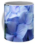 Office Art Prints Blue Hydrangea Flowers Giclee Baslee Troutman Coffee Mug