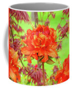Office Art Prints Orange Azalea Flowers Landscape 13 Giclee Prints Baslee Troutman Coffee Mug