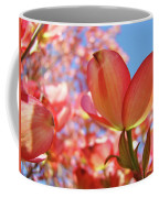Office Art Prints Pink Dogwood Tree Flowers 4 Giclee Prints Baslee Troutman Coffee Mug