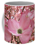 Office Art Prints Pink Flowering Dogwood Tree 1 Giclee Prints Baslee Troutman Coffee Mug
