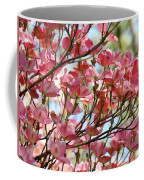 Office Art Prints Pink Flowering Dogwood Trees 18 Giclee Prints Baslee Troutman Coffee Mug