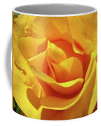 Office Art Prints Roses Orange Yellow Rose Flower 1 Giclee Prints Baslee Troutman Coffee Mug