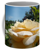 Office Art Rose Landscape Peach Roses Flowers Giclee Baslee Troutman Coffee Mug