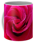 Office Art Rose Spiral Art Pink Roses Flowers Giclee Prints Baslee Troutman Coffee Mug