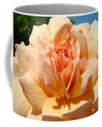 Office Artwork Roses Peach Rose Flower Giclee Baslee Troutman Coffee Mug