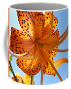 Office Artwork Tiger Lily Flowers Art Prints Baslee Troutman Coffee Mug