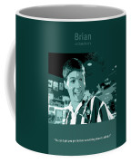 Office Space Brian At Chotchkies Movie Quote Poster Series 007 Coffee Mug