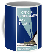 Official United States War Films Coffee Mug by War Is Hell Store
